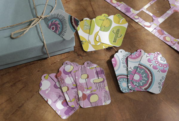 punched gift tags