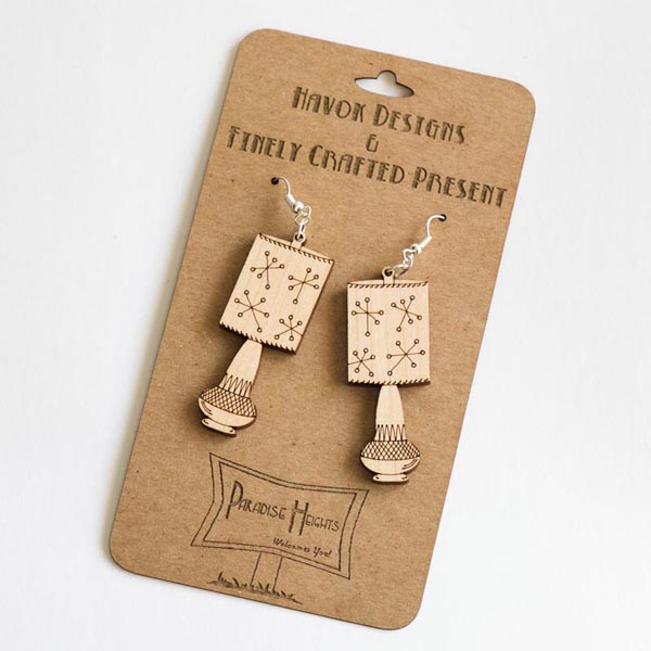 Paradise Heights Jeannie earrings