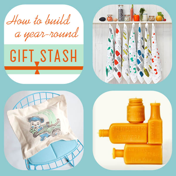 How to build a year-round gift stash, by Finely Crafted
