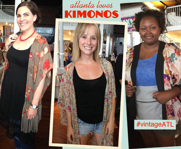 Kimonos as cover-ups are hot in Atlanta! Round-up by Finely Crafted