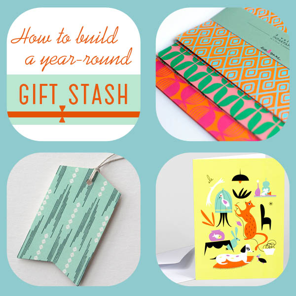 How to collect wraps, cards, and embellishments for year-round giving