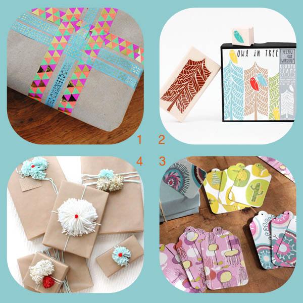 Four DIY gift embellishment ideas