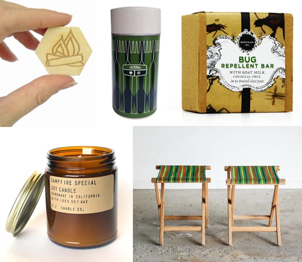 Vintage camping inspiration by Finely Crafted