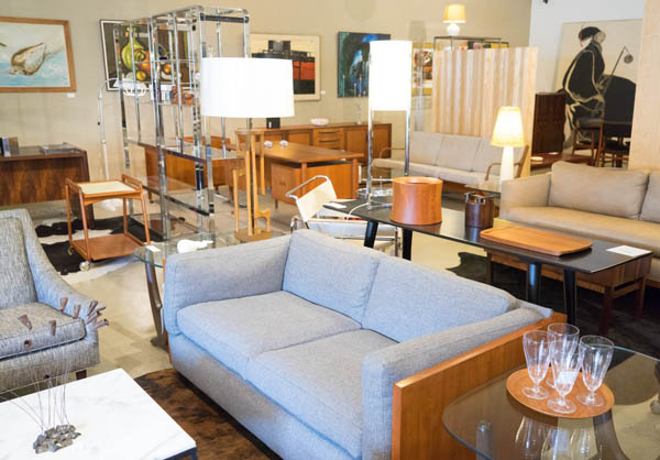 City Issue midcentury modern boutique in Atlanta; photo by Finely Crafted