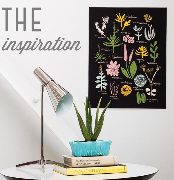 Succulent poster designed by Finely Crafted and Leah Duncan